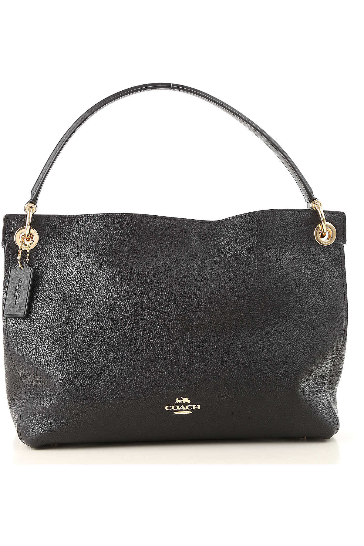 Coach Tote Bag On Sale Black Leather 2019 Raffaello Network Goofash