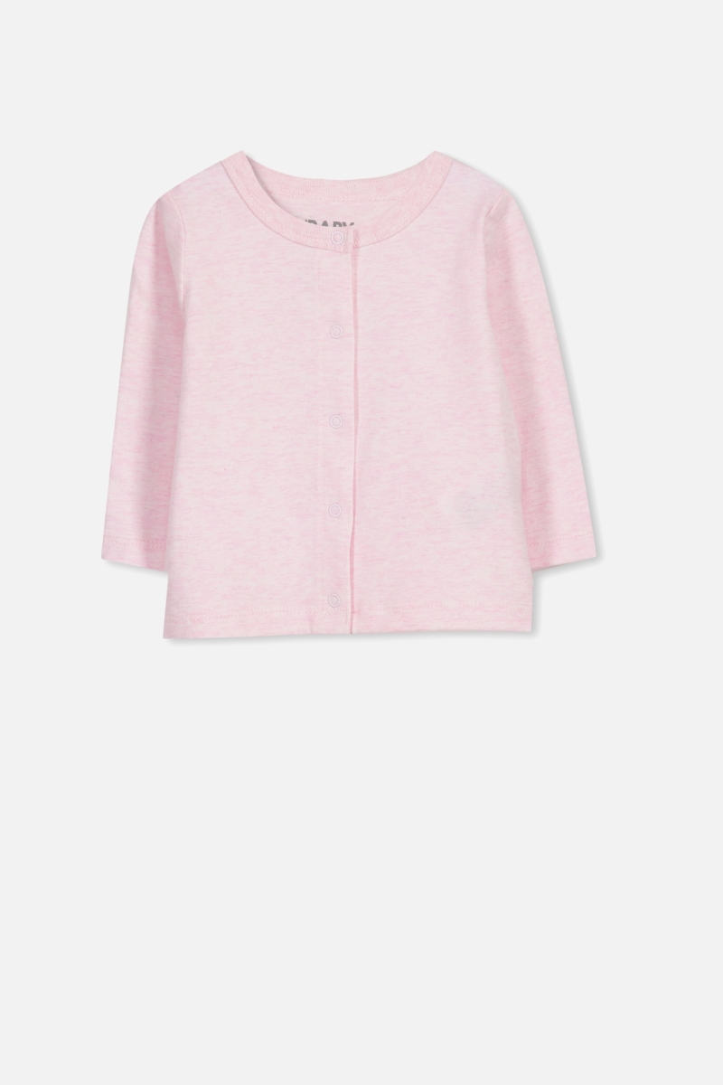Cotton On Kids - The Baby Cardigan - Pink marle - Cotton On - GOOFASH