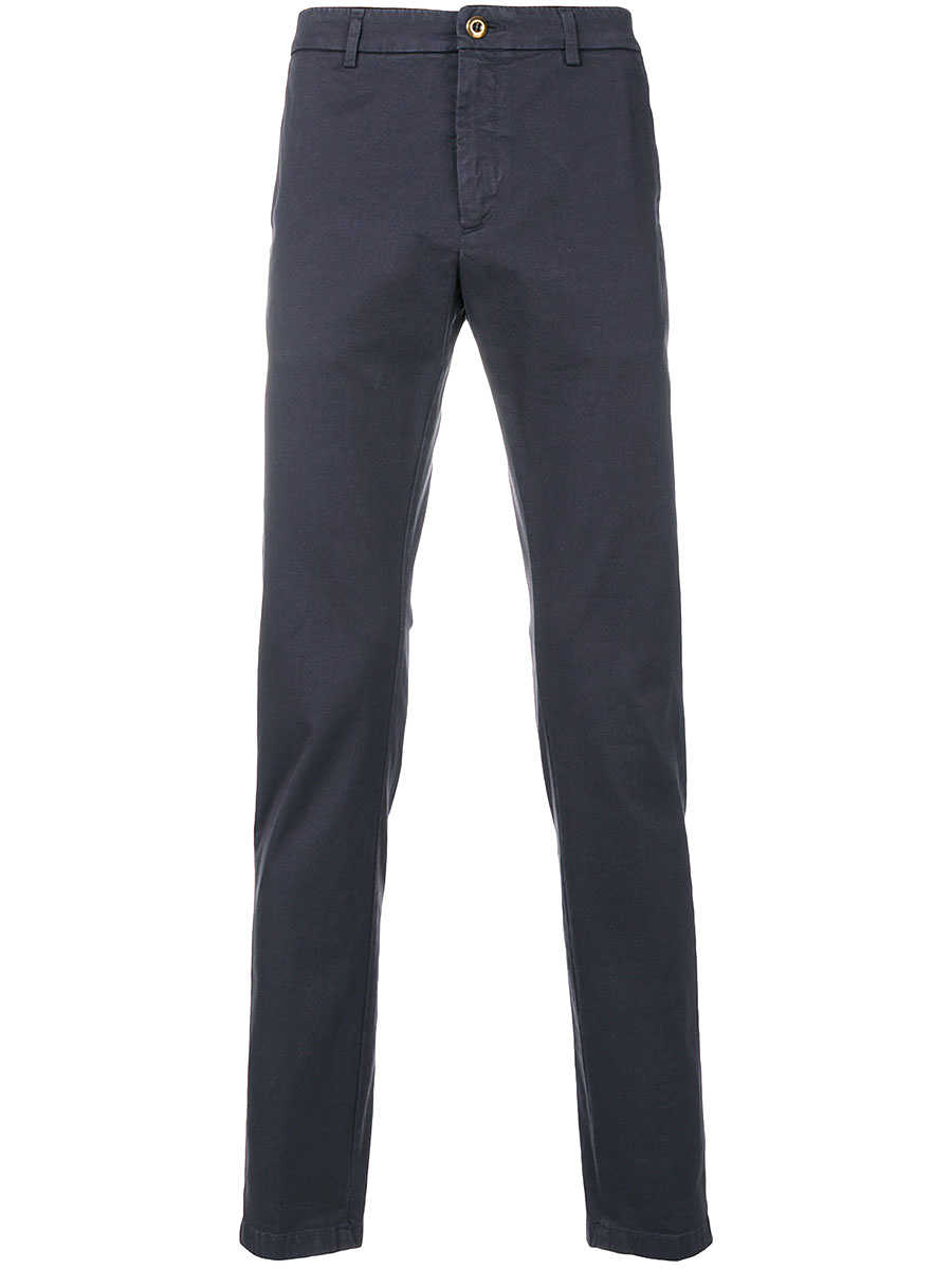 Department Five lead metal chino trousers Gray - Leam - GOOFASH