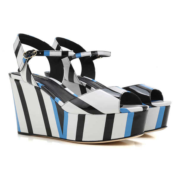 Dolce & Gabbana Wedges for Women On Sale in Outlet