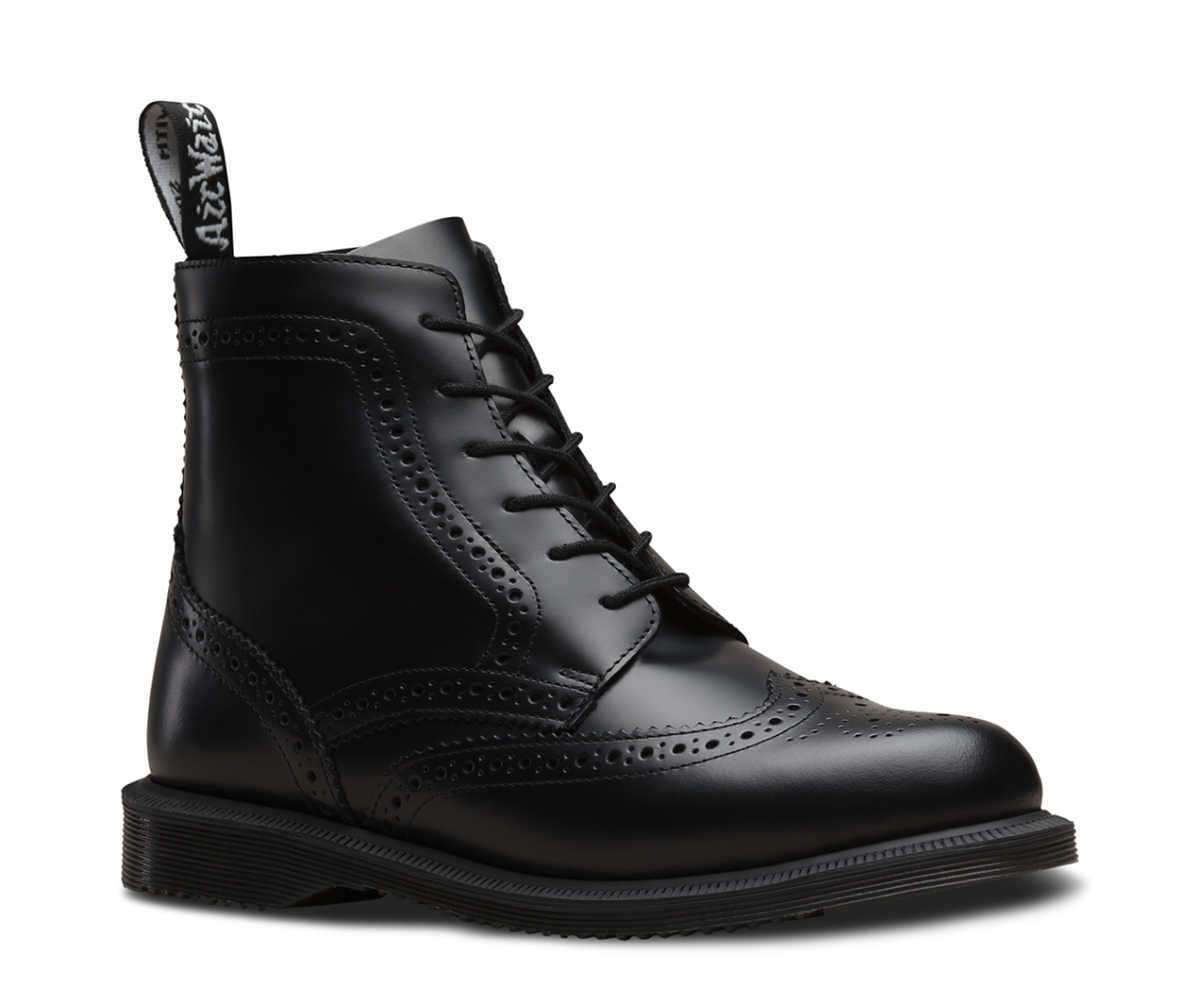 Dr Martens - DOLPHIN SMOOTH LEATHER - GOOFASH