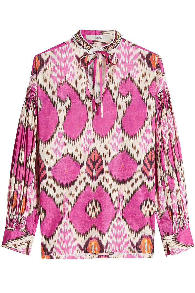 Etro Printed Cotton Blouse GOOFASH 260869