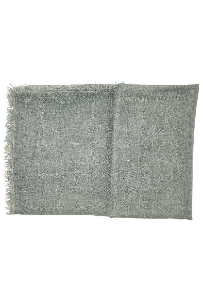 Faliero Sarti New Lolly Cashmere Scarf with Silk GOOFASH 289697