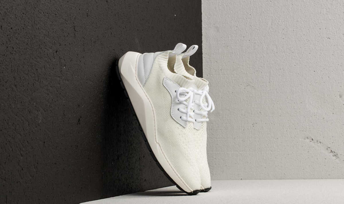 Filling Pieces Knit Speed Arch Runner Condor White GOOFASH 015251119010