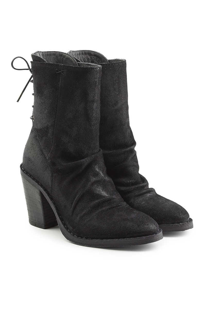 Fiorentini + Baker Sassy Suede Ankle Boots with Lace-Up Back GOOFASH 277465