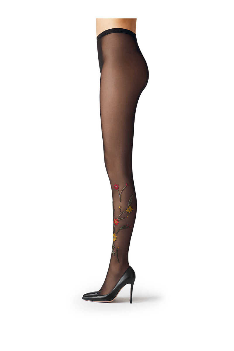 Fogal Embroidered Tights GOOFASH 260443