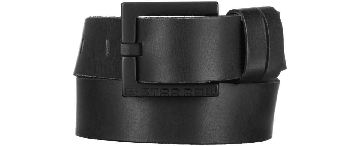 G-Star RAW Duko Belt Black GOOFASH 308866