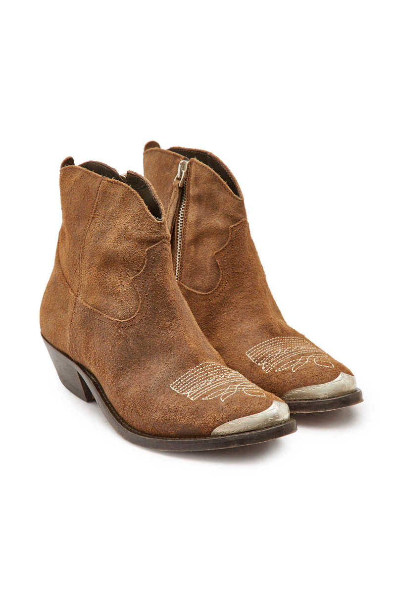 Golden Goose Deluxe Brand Suede Young Boots GOOFASH 295449