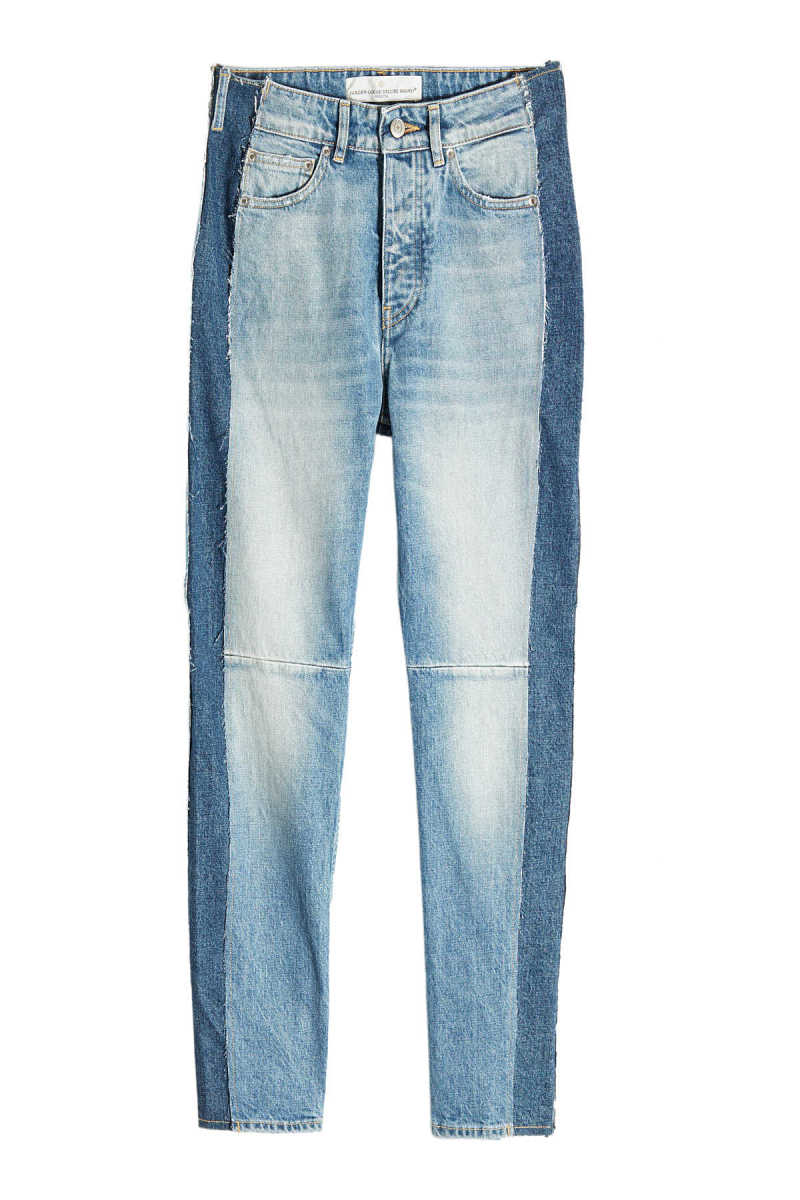 Golden Goose Deluxe Brand Two-Tone Skinny Jeans GOOFASH 273779