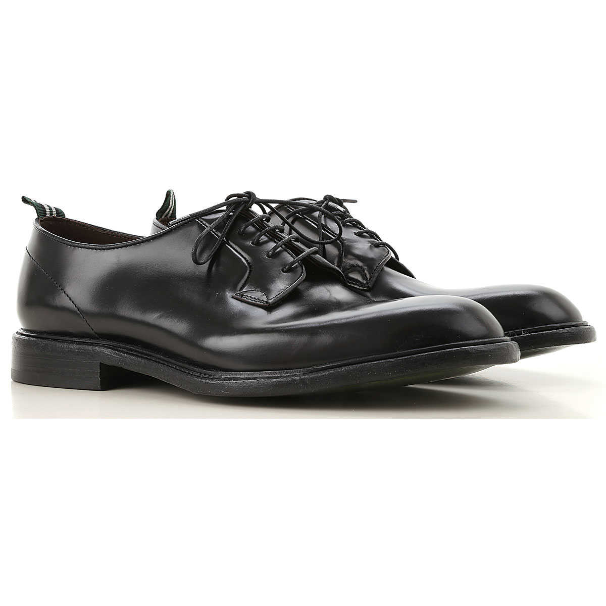 Green George Lace Up Shoes for Men Oxfords