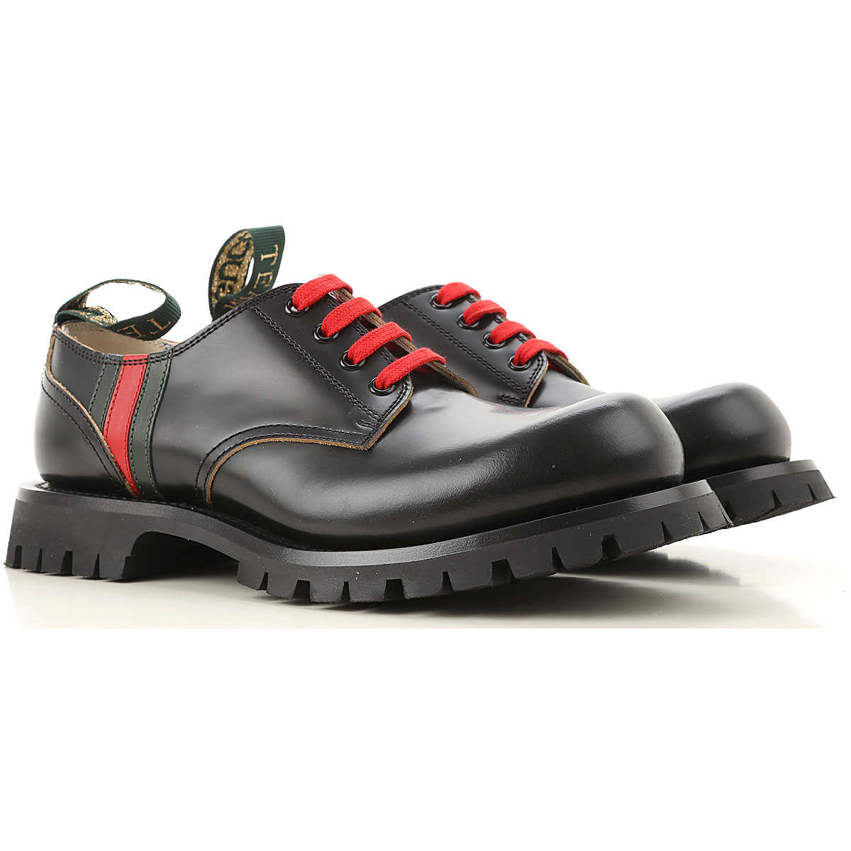 Gucci Lace Up Shoes for Men Oxfords