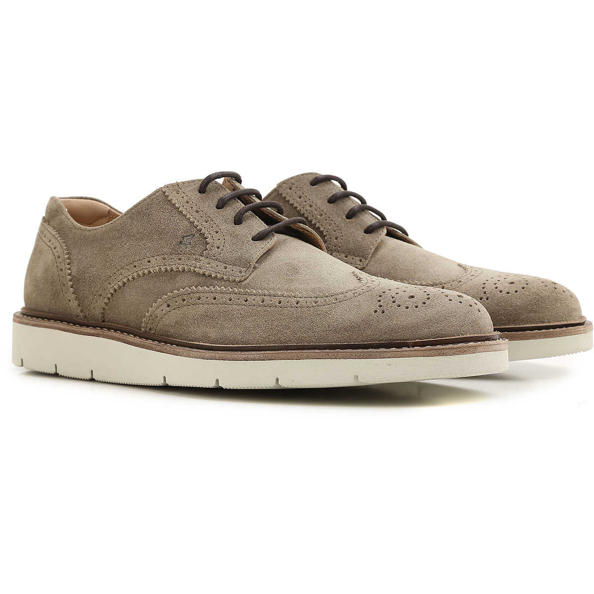 Hogan Brogue Shoes On Sale in Outlet