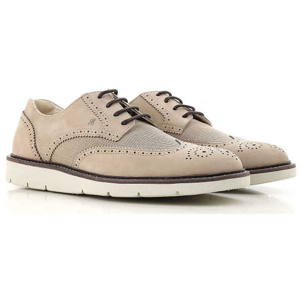 Hogan Lace Up Shoes for Men Oxfords