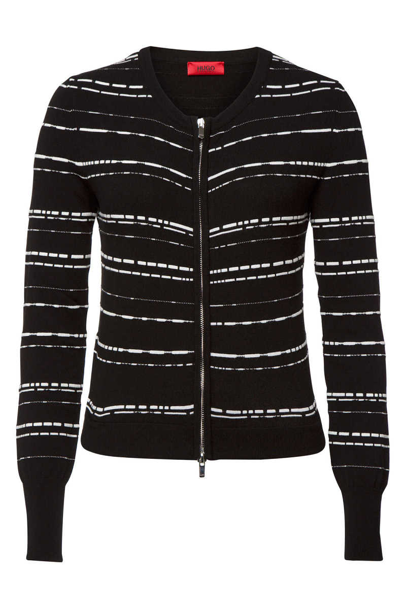 Hugo Songet Zipped Cardigan GOOFASH 294756