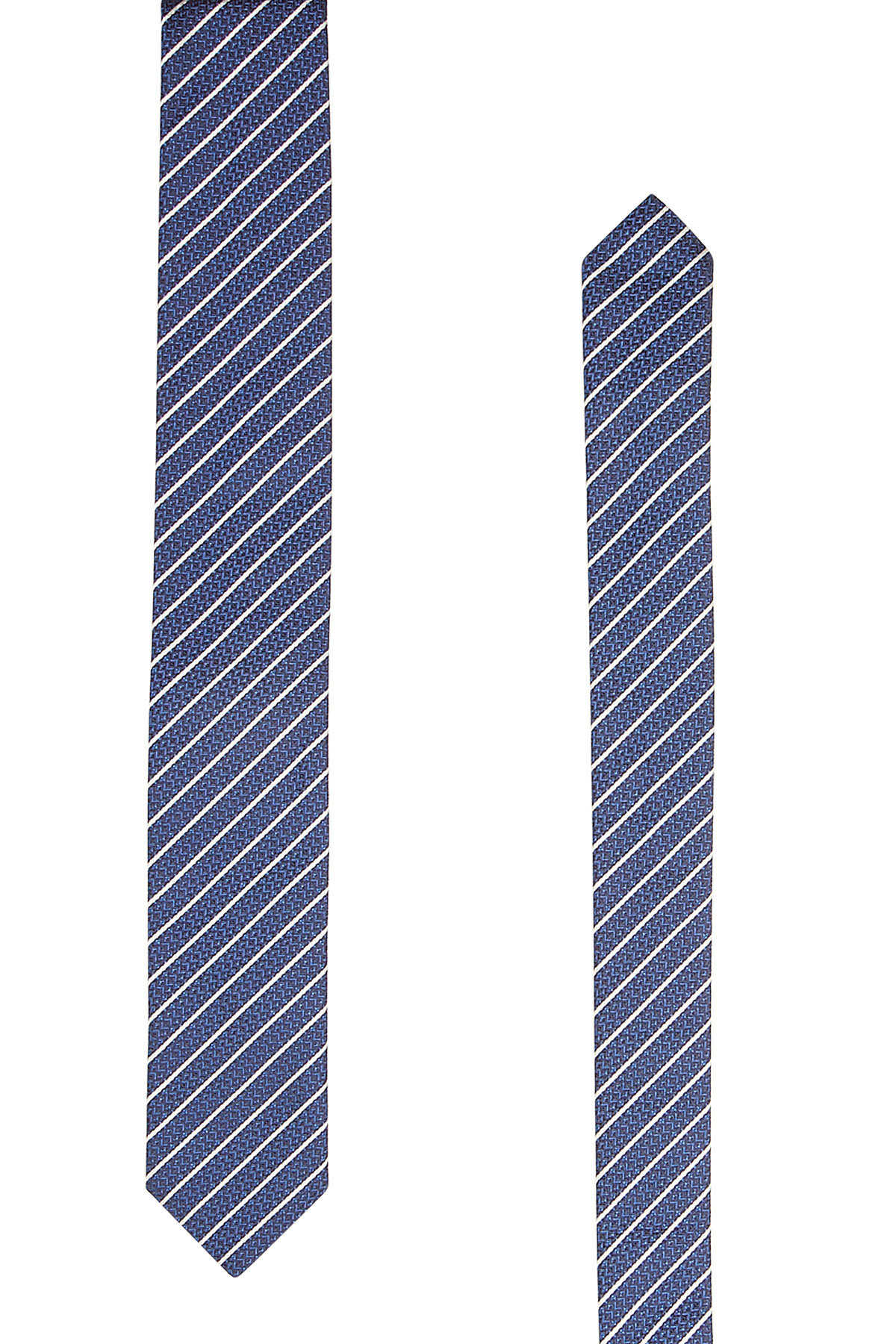 823e303a26a Hugo Striped Silk Tie GOOFASH 296473