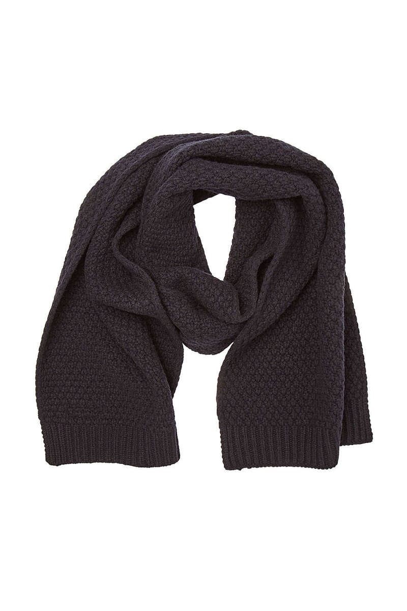 Hugo Zaff Virgin Wool Scarf GOOFASH 296478