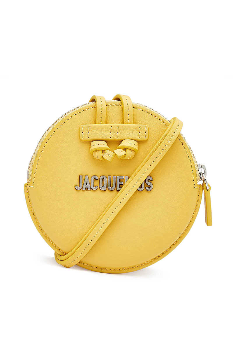 Jacquemus Leather Le Pitchou Coin Purse GOOFASH 297071