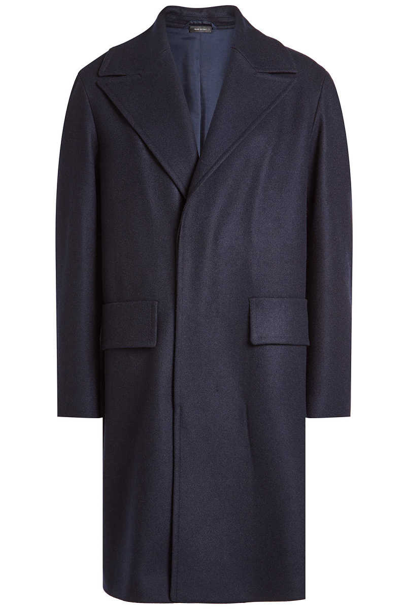 Jil Sander Virgin Wool Coat GOOFASH 273506