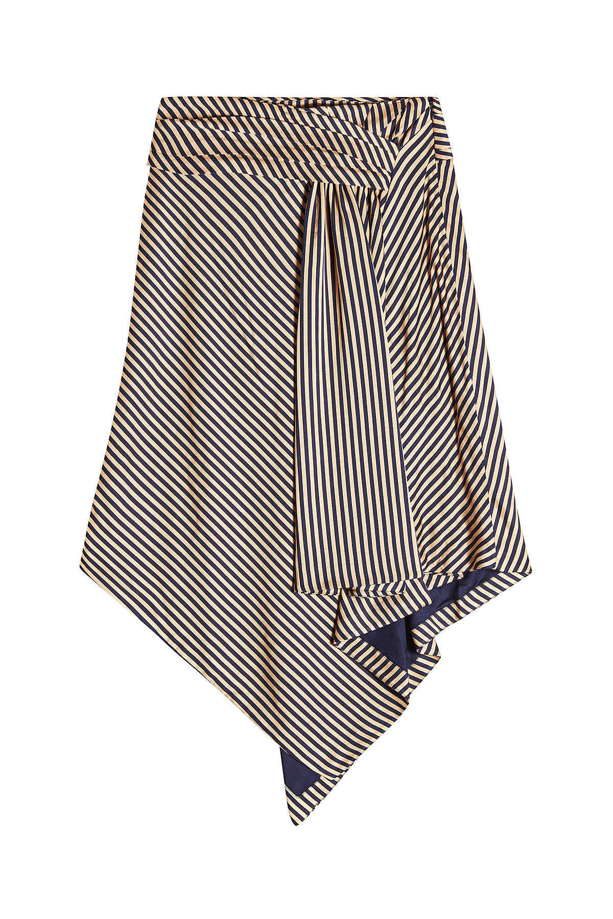 d793cd6f1c3 Jonathan Simkhai Striped Draped Skirt GOOFASH 290077