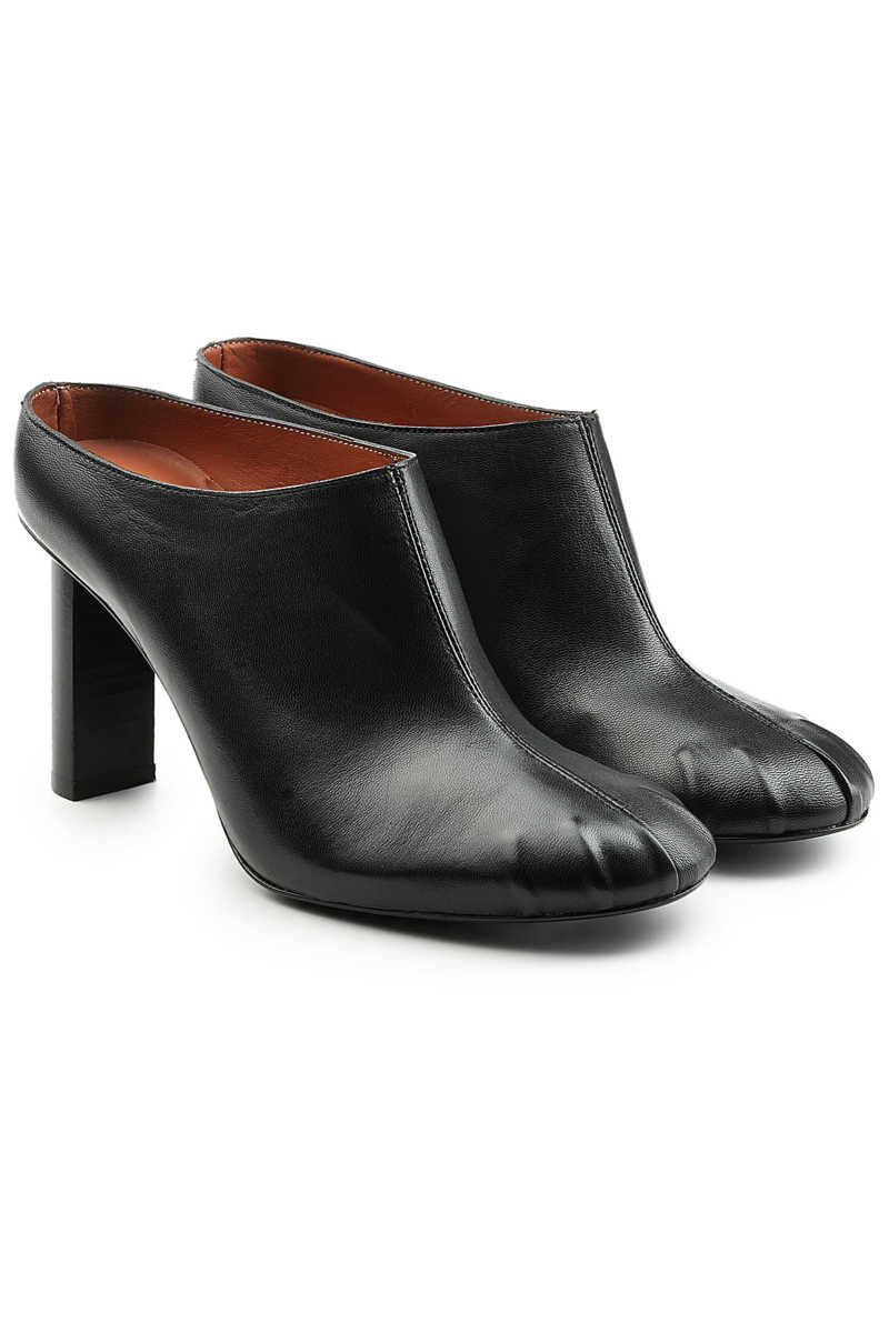 Joseph Leather Mules GOOFASH 277191