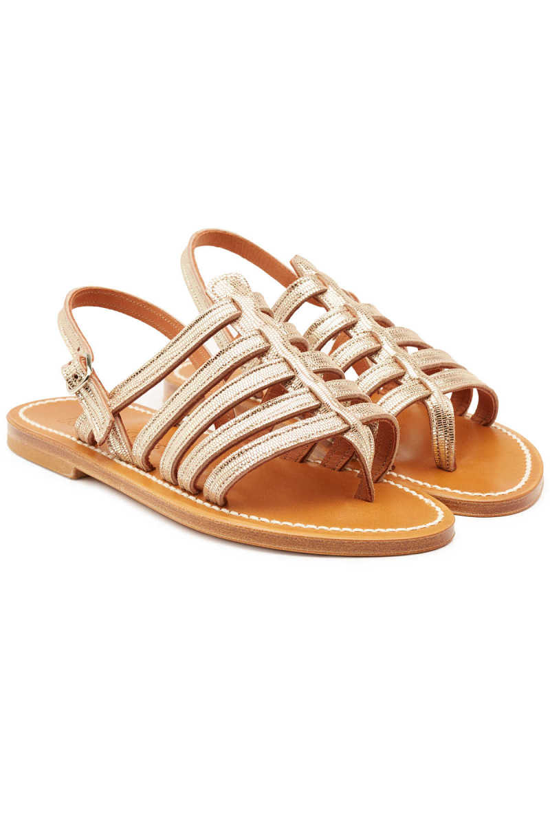 K.Jacques Homere Leather Sandals GOOFASH 295710
