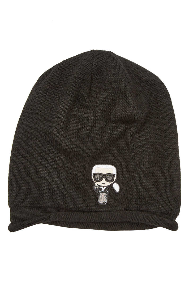 Karl Lagerfeld K/Tokyo Karl Hat with Cashmere and Wool GOOFASH 295839