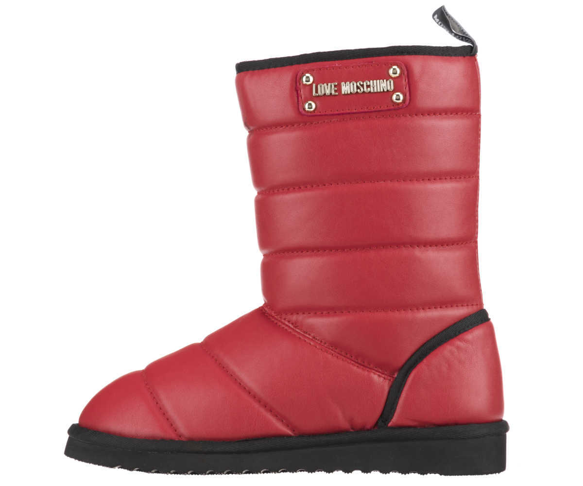 Love Moschino Snow boots Red GOOFASH 275196