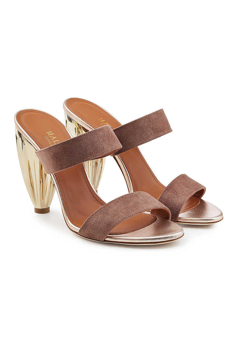 Malone Souliers Suede Sandals GOOFASH 263999