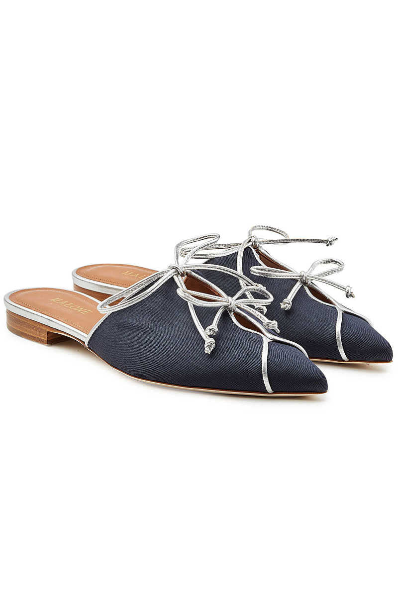 Malone Souliers Vilvin Mules with Leather GOOFASH 282431