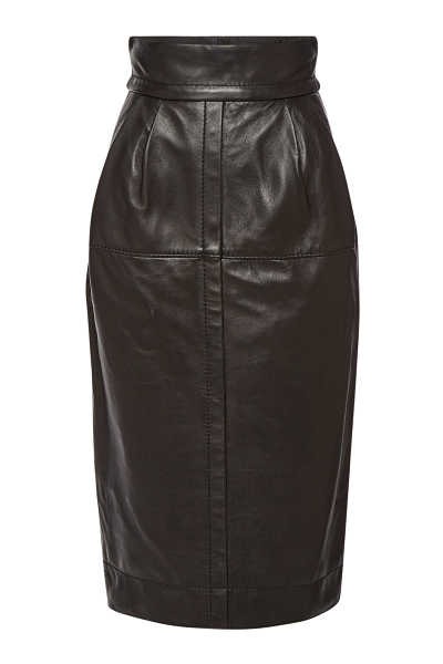 Marc Jacobs High Waist Leather Skirt GOOFASH 292521