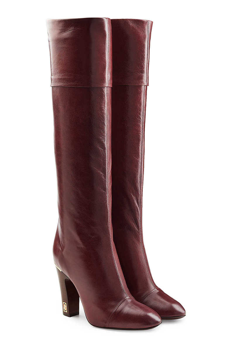 Marc Jacobs Leather Knee Boots GOOFASH 278187