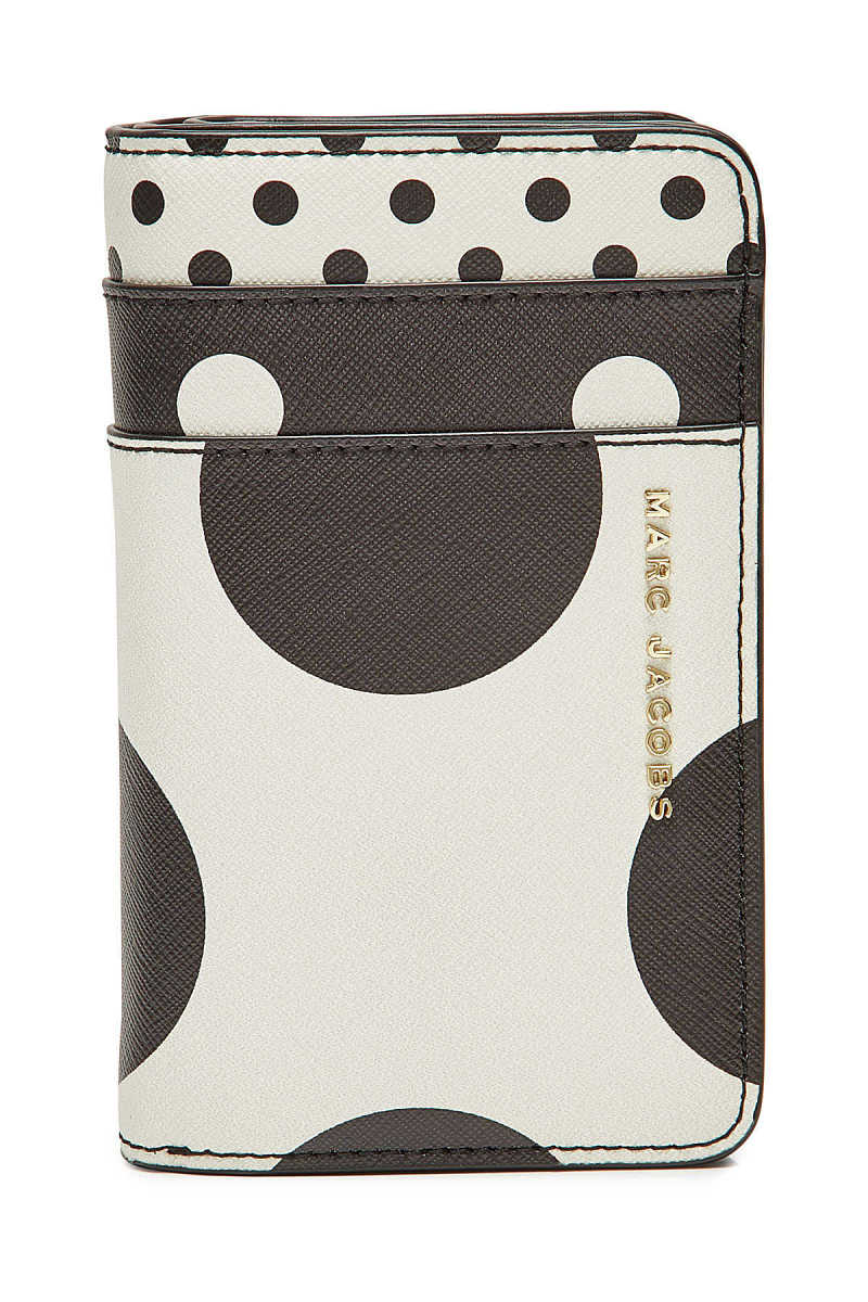 Marc Jacobs Printed Leather Wallet GOOFASH 290469
