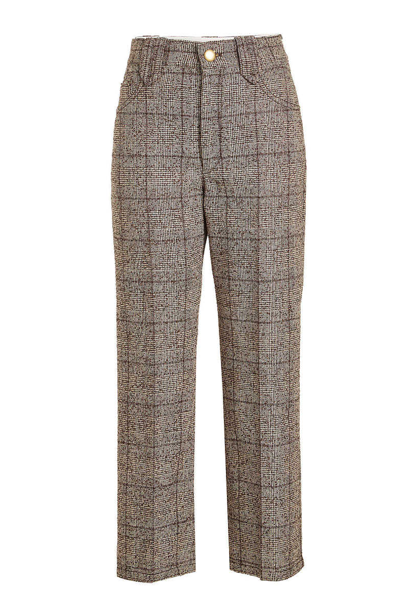 Marc Jacobs Printed Pants with Wool and Cotton GOOFASH 278160