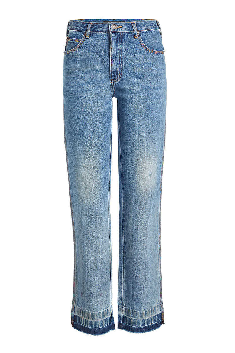 Marc Jacobs Relaxed Jeans with Fringed Ankles GOOFASH 269948