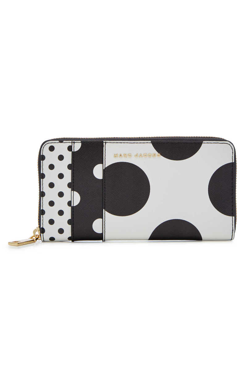 Marc Jacobs Standard Continental Printed Leather Wallet GOOFASH 290468