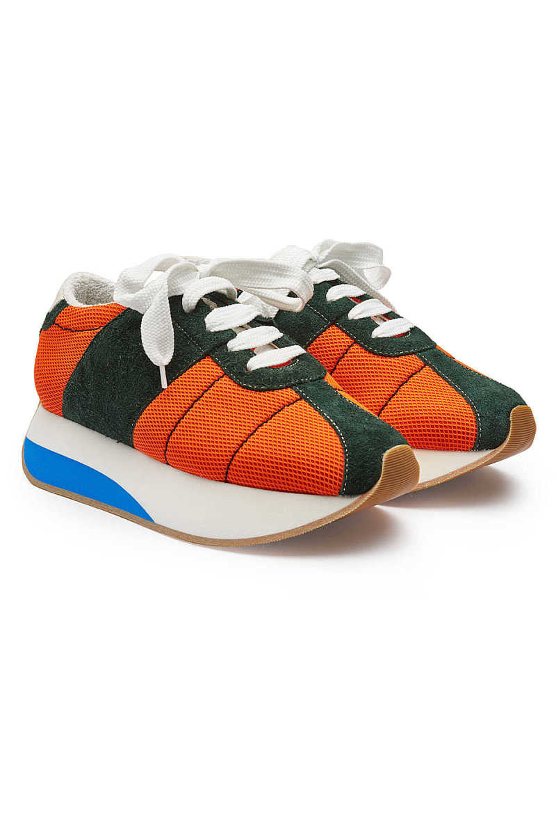 Marni Sneakers with Suede Leather and Mesh GOOFASH 288051