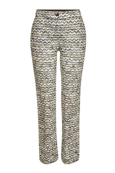 Missoni Straight Leg Pants with Wool GOOFASH 296297