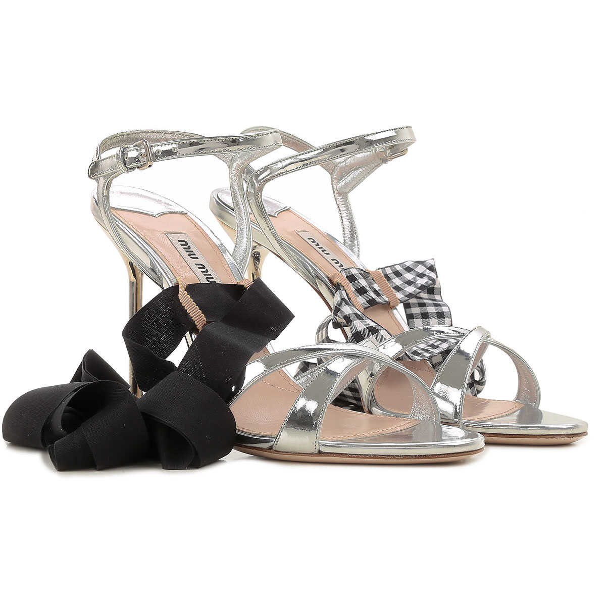 Miu Miu Sandals for Women On Sale in Outlet
