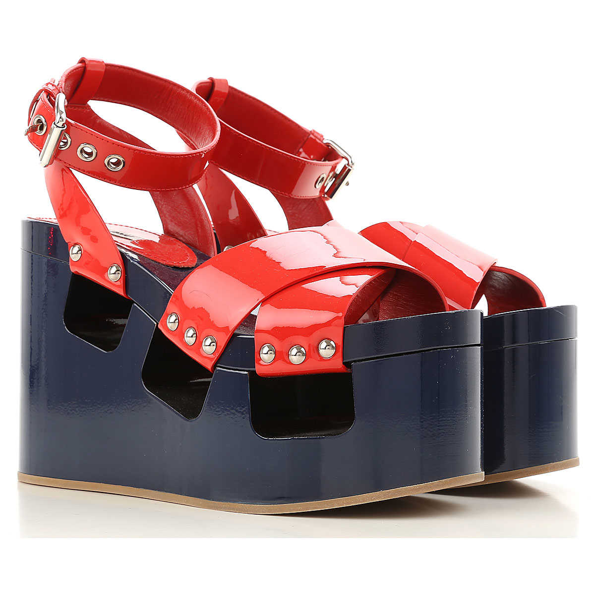 Miu Miu Wedges for Women On Sale in Outlet