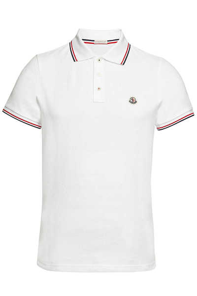Moncler Cotton Polo Shirt GOOFASH 299241