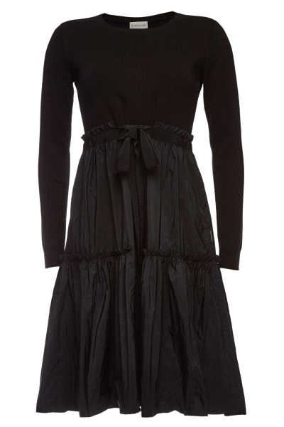 Moncler Dress with Drawstring Skirt GOOFASH 292121