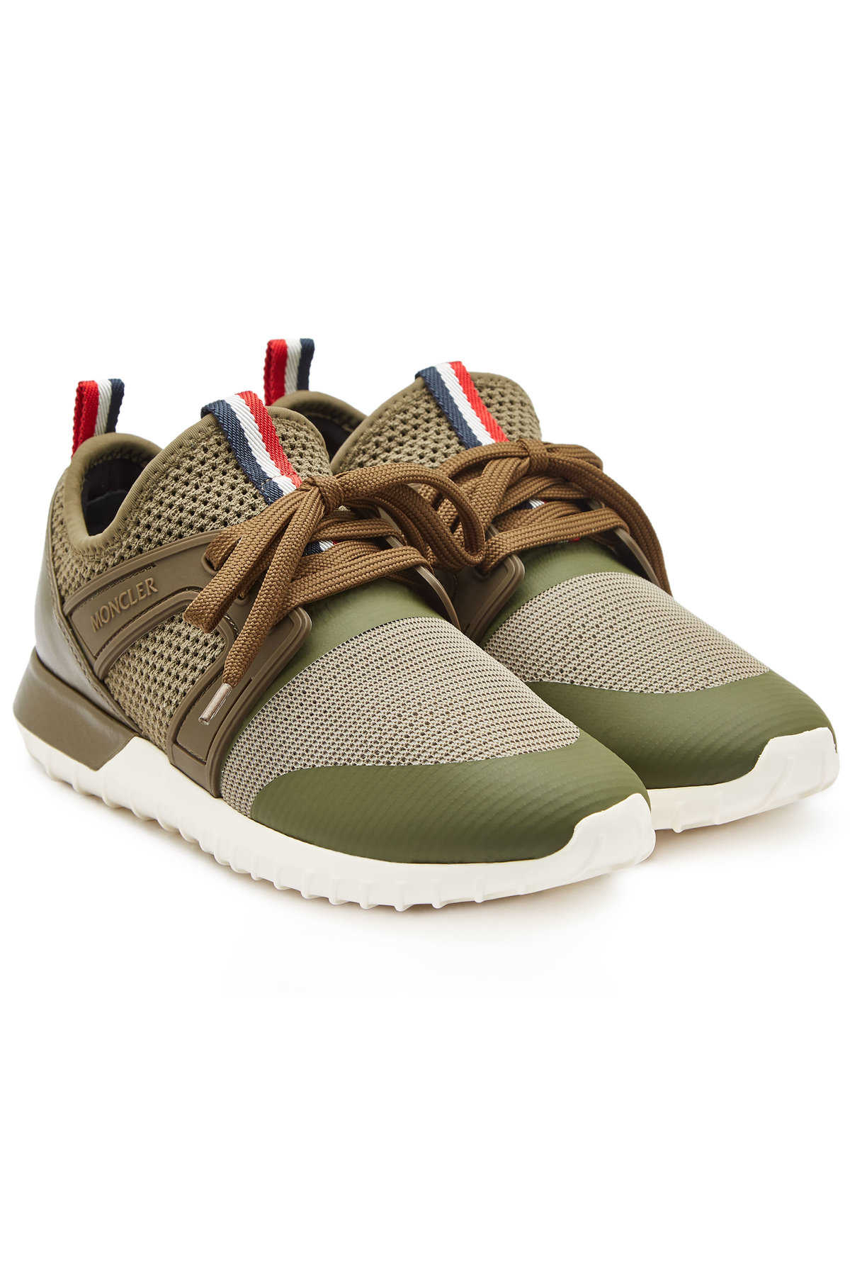 Moncler Meline Sneakers with Leather