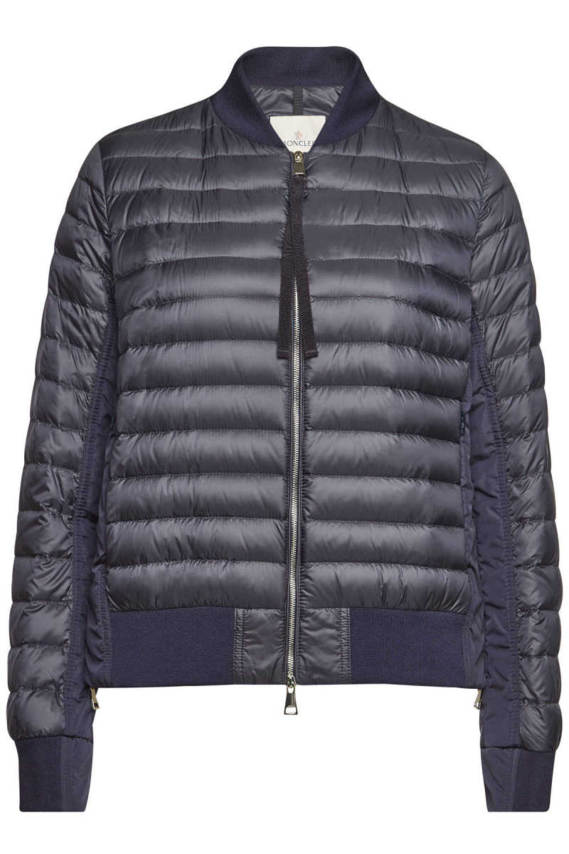 Moncler Rome Quilted Down Jacket - blue - GOOFASH - 300570