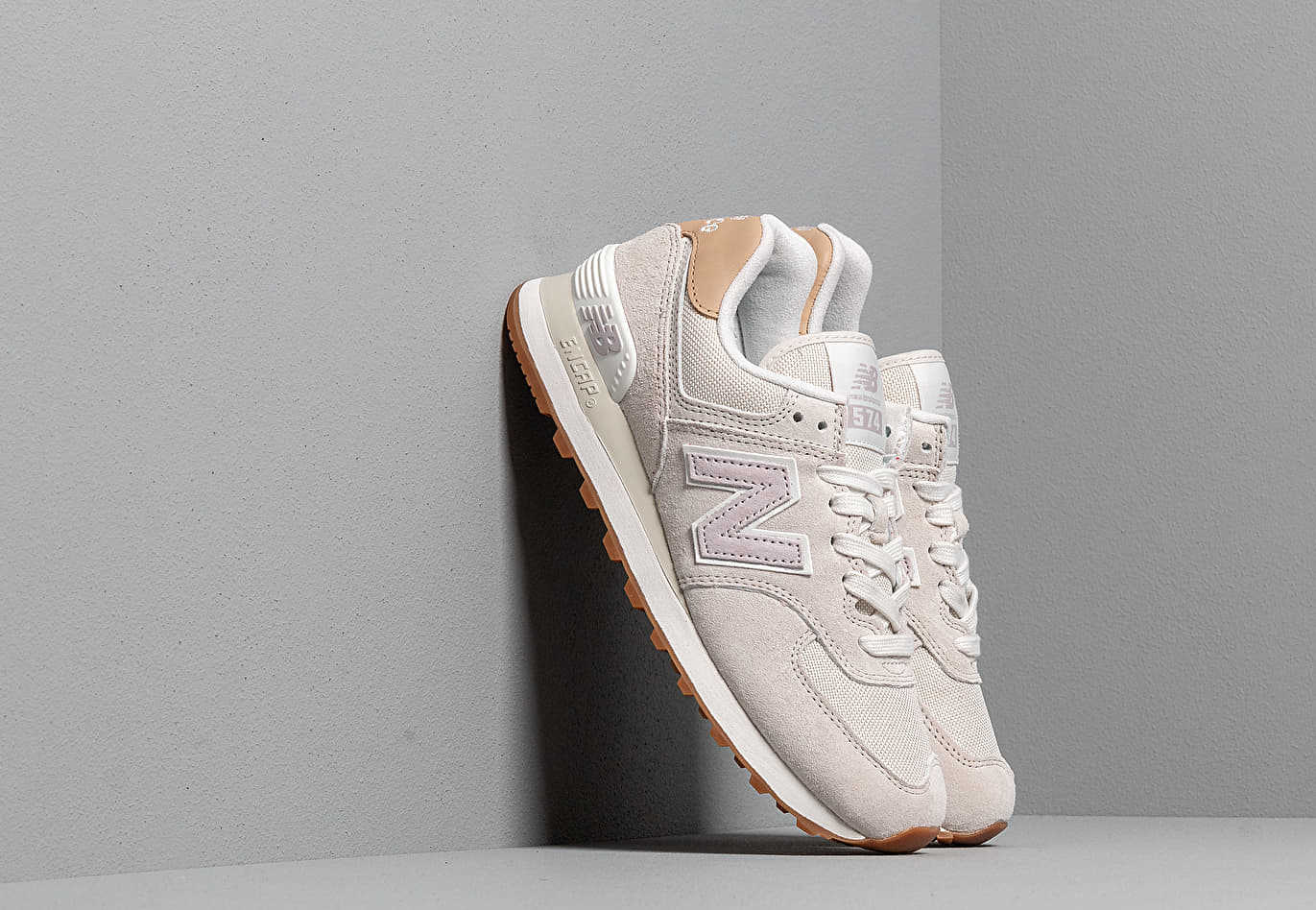New Balance 574 Light Cliff Grey/ Light Cashmere Footshop