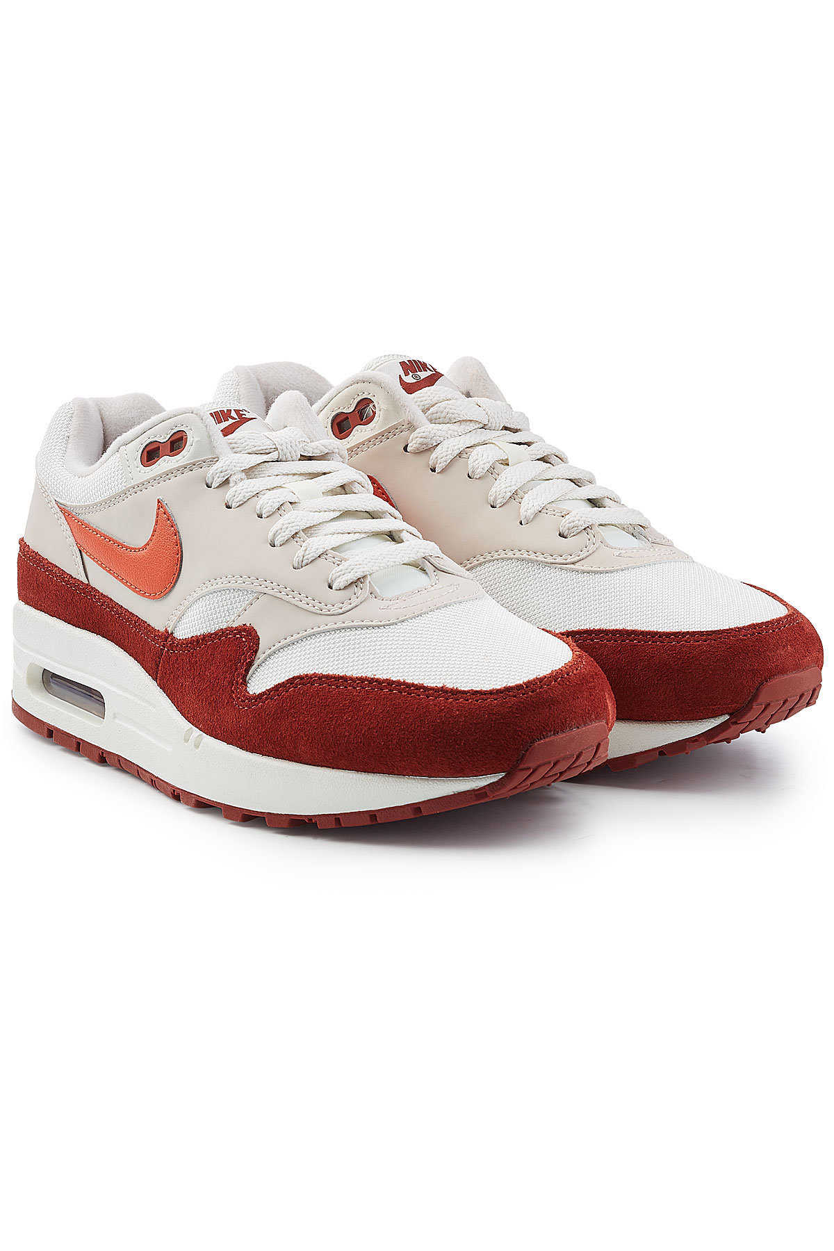 88c107d8b23 Nike Air Max 1 Sneakers with Suede GOOFASH 292988