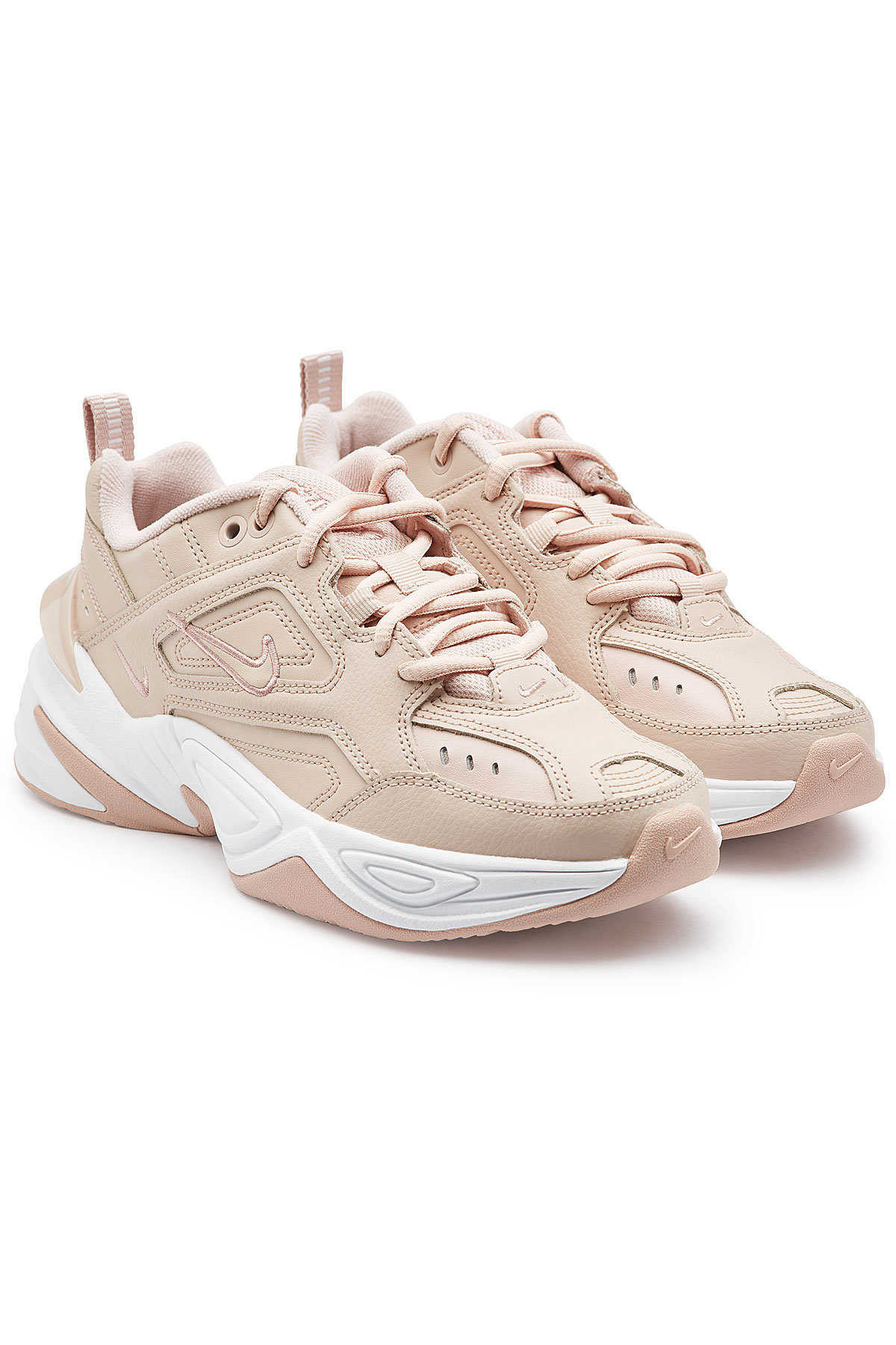 Nike M2K Tekno Sneakers with Leather