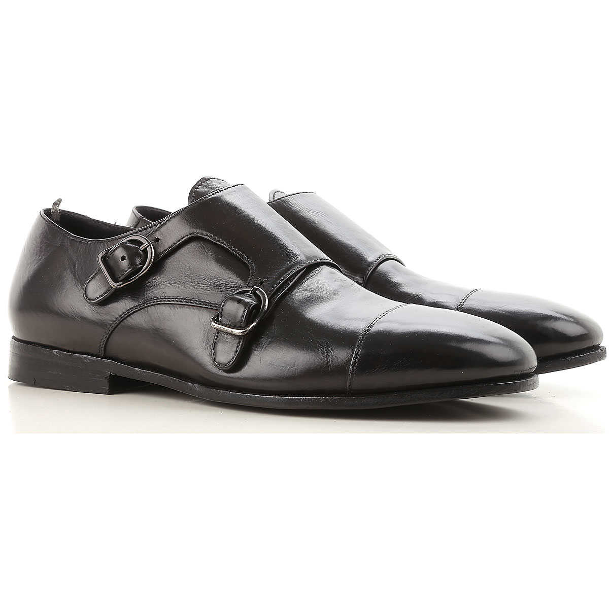 Officine Creative Monk Strap Shoes for Men On Sale in Outlet