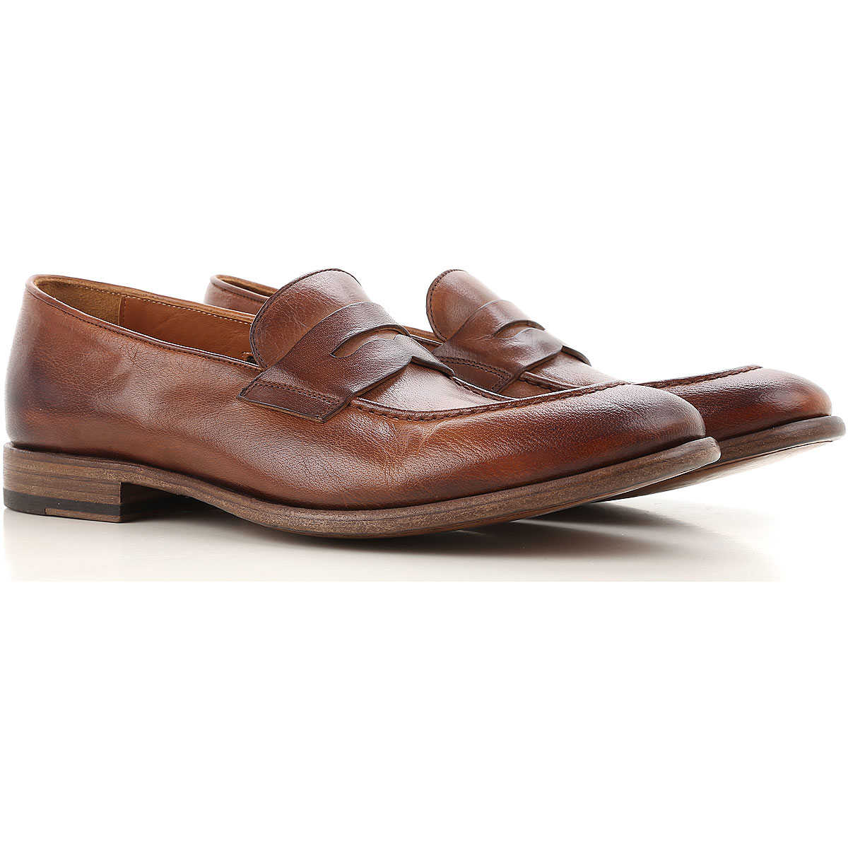 Pantanetti Loafers for Men On Sale in Outlet