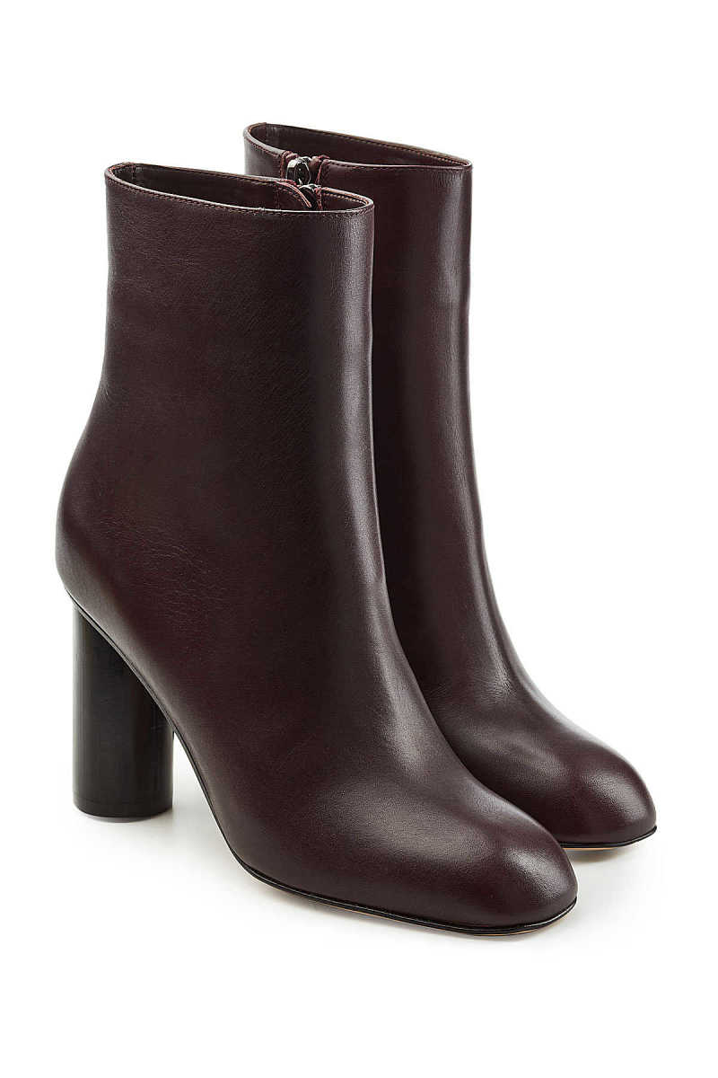 Paul Andrew Leather Ankle Boots GOOFASH 275833