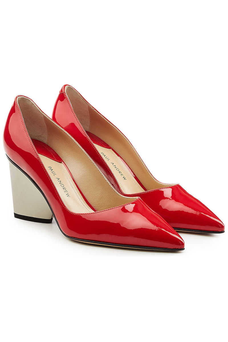 Paul Andrew Lotta Patent Leather Pumps GOOFASH 281199